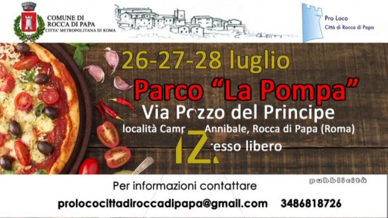 Festa della Pizza Rocca di Papa