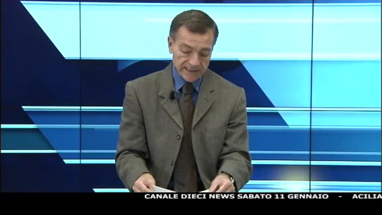 Canale 10 News 11/01/2020