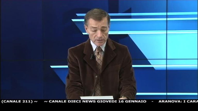 Canale 10 News 16/01/2020