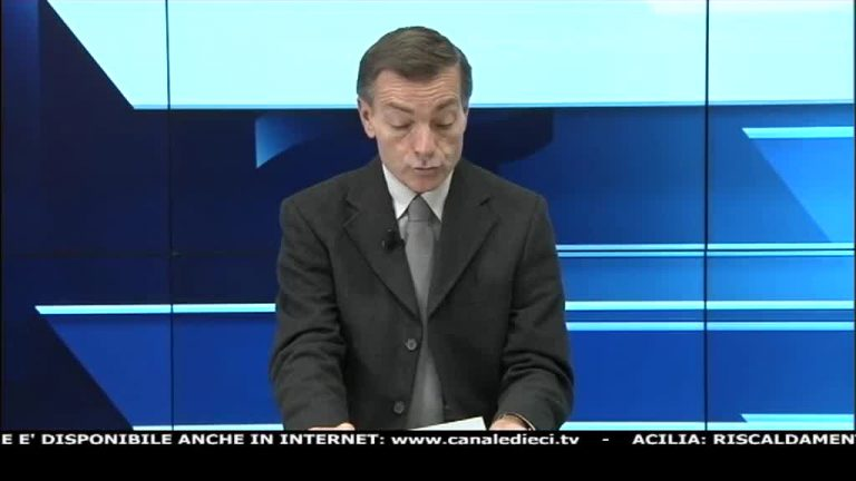 Canale 10 News 22/01/2020