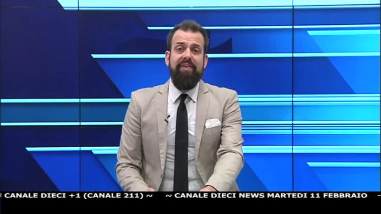 Canale 10 News 11/02/2020