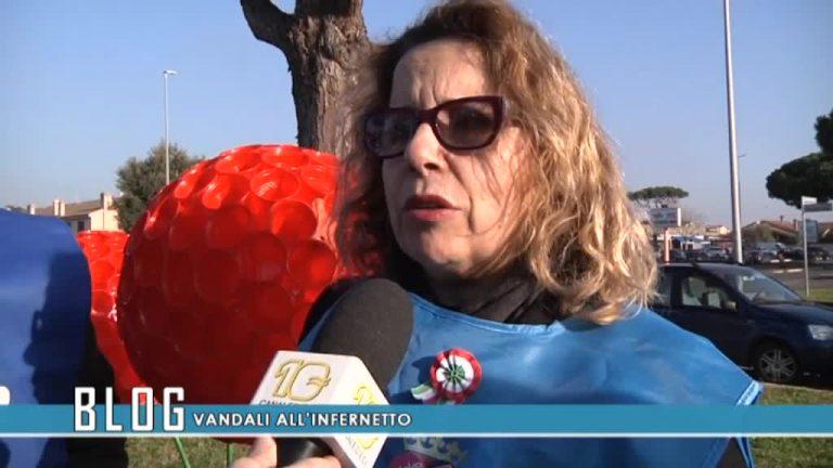 Vandali all'Infernetto