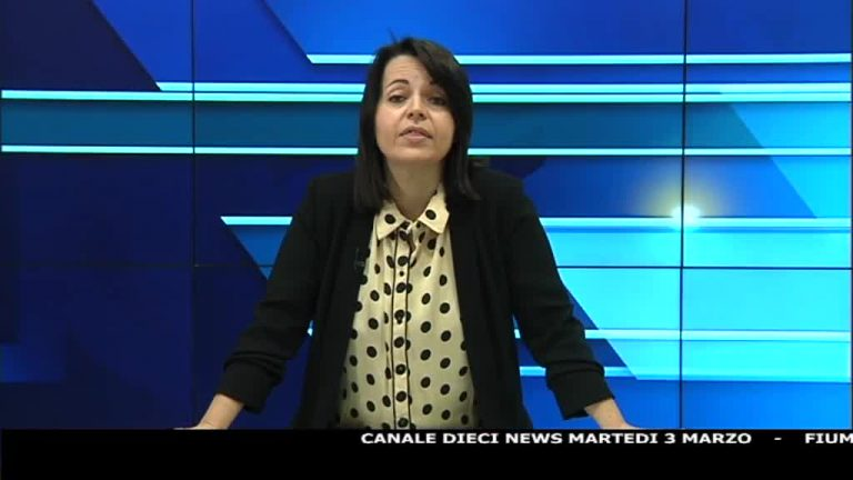 Canale 10 News 03/03/2020