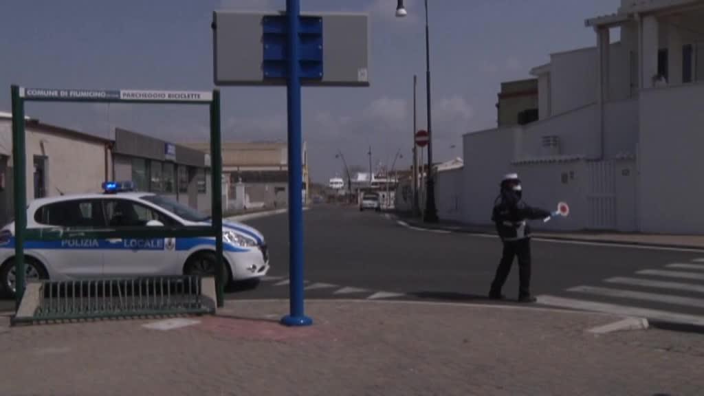 Controlli della Polizia Locale di Roma Capitale per prevenire contagio Coronavirus