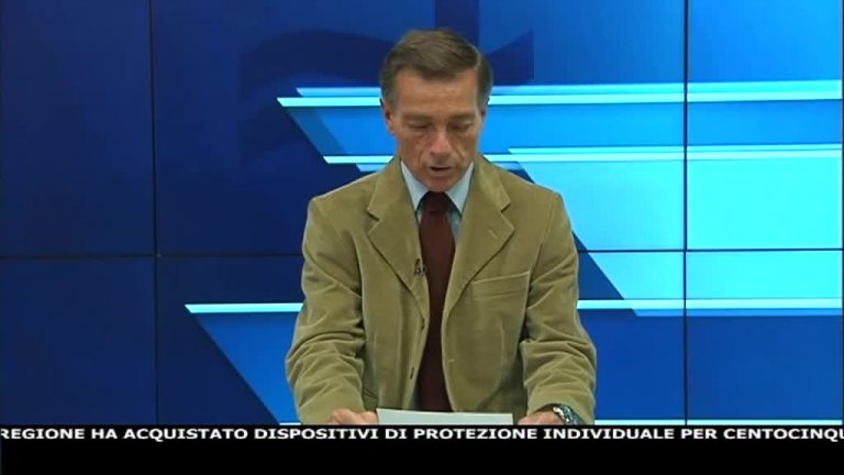 Canale 10 News 21/04/2020