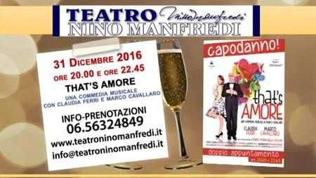 Capodanno al Teatro Manfredi