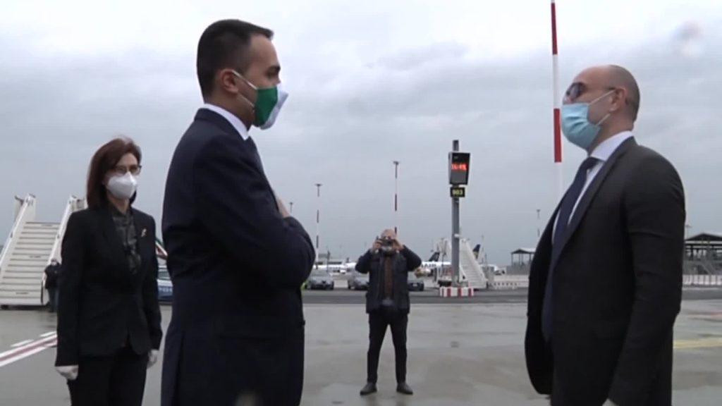 Fiumicino: all'Aeroporto Leonardo da Vinci arrivati nuovi aiuti internazionali. 4