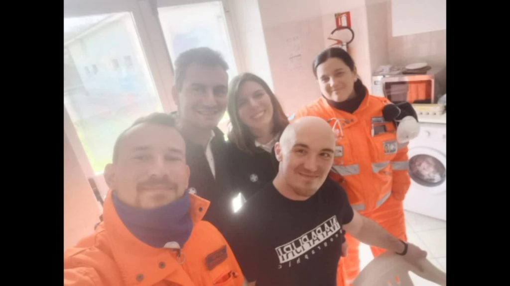Fiumicino: terminata la quarantena per i volontari della Misericordia in missione in Lombardia 1