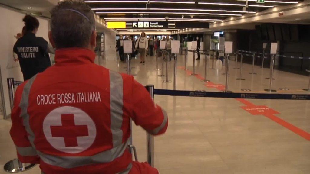 Fiumicino: un voloproveniente da Cuba è atterrato all'Aeroporto Leonardo da Vinci 1
