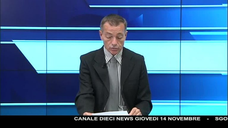 Canale 10 News 14/11/2019