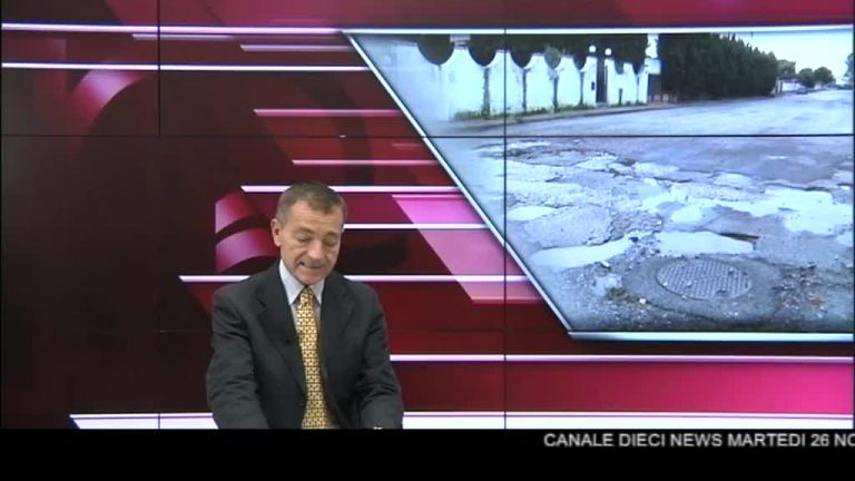 Canale 10 News 26/11/2019 seconda edizione