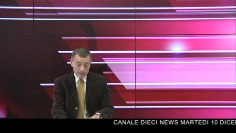 Canale 10 News 10/12/2019 seconda edizione