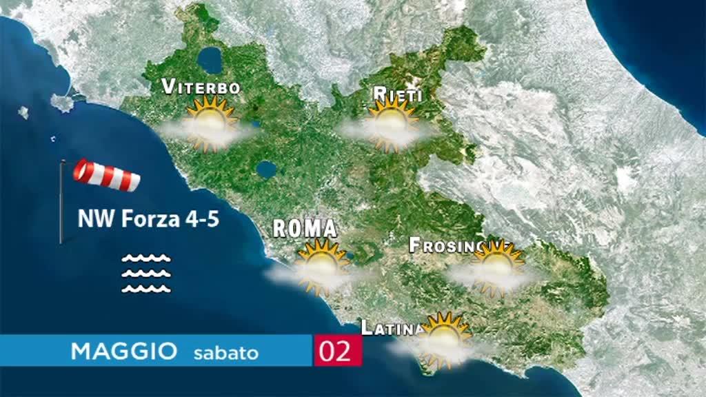 Le previsioni meteo del weekend: sabato 2 e domenica 3 maggio 2020 3