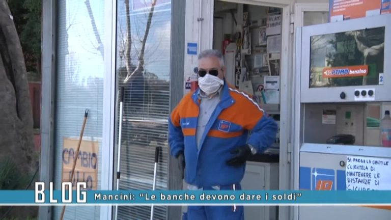 """Mancini:"""" Le banche devono dare i soldi"""""""