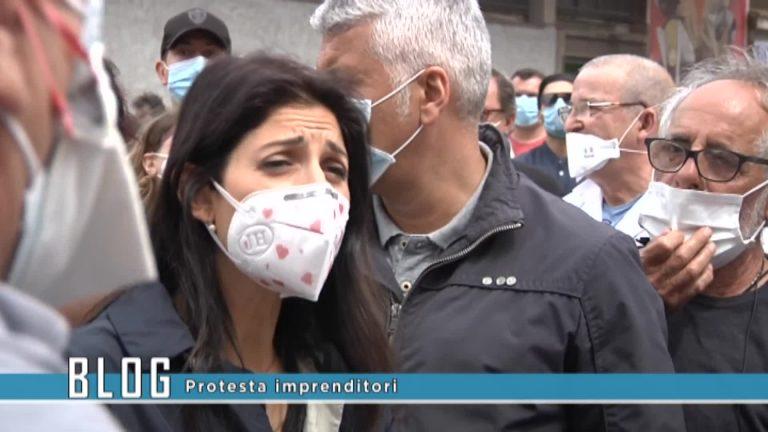 Protesta imprenditori
