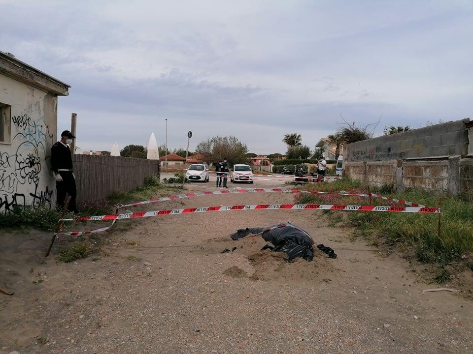 Fregene: Rimossa oggi la balenottera trovata morta sulla spiaggia 5