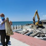 Fregene: demolizione Perla
