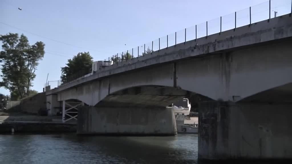 Ponte della Scafa: lavori