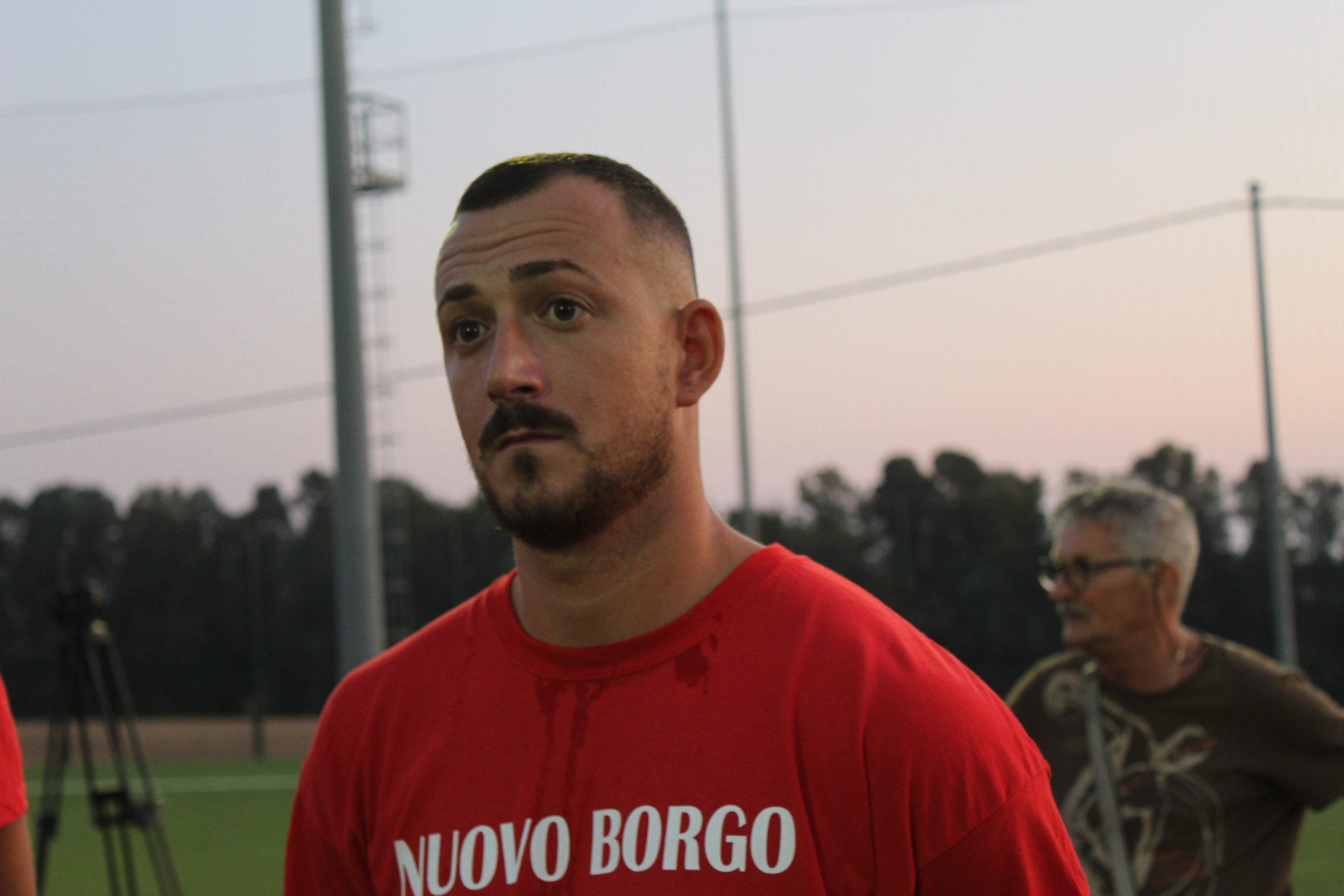 Rebus allenatore per il Borgo San Martino