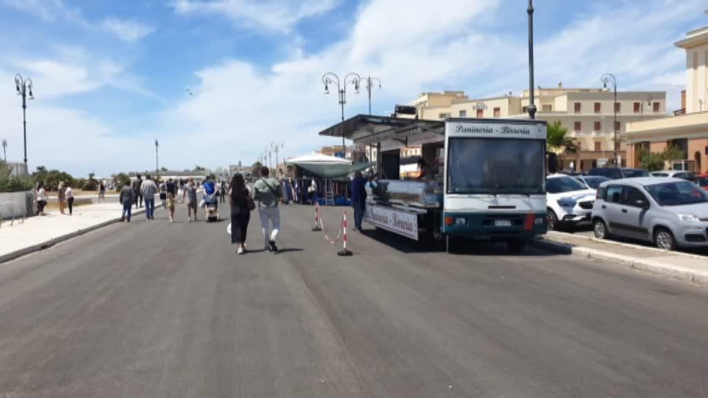 Camion bar al Pontile di Ostia