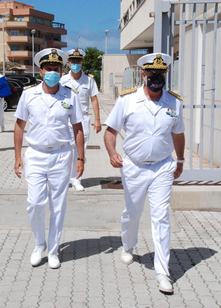 Capitaneria di Porto di Roma: visita di commiato del Direttore marittimo del Lazio 1