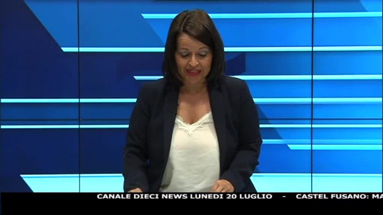 Canale 10 News 20/07/2020