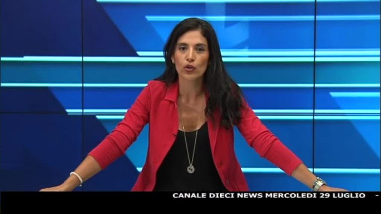 Canale 10 News 29/07/2020