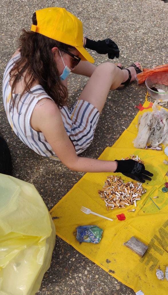 Beach Litter Lazio