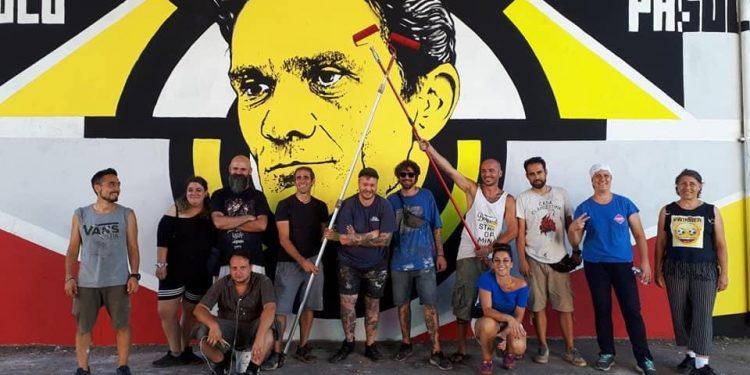 Casal Bernocchi: l'ultimo capolavoro di street-art realizzato dal Collettivo La Talpa 1