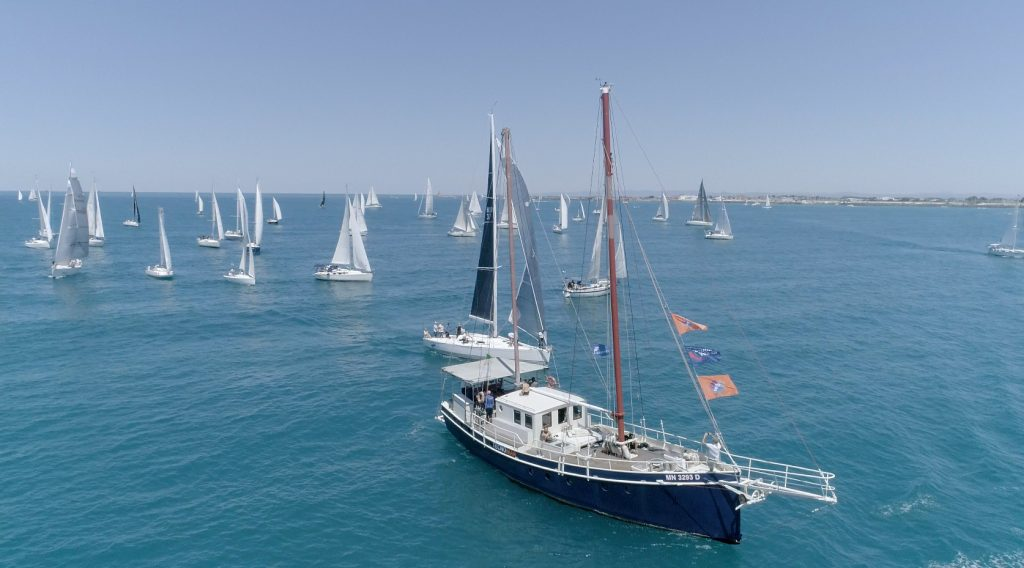 Sport: 100 Vele Rendez Vous. Oltre 200 barche al primo evento post lockdown 1