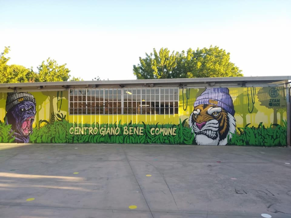 Centro Giano: un Murales per il quartiere 2