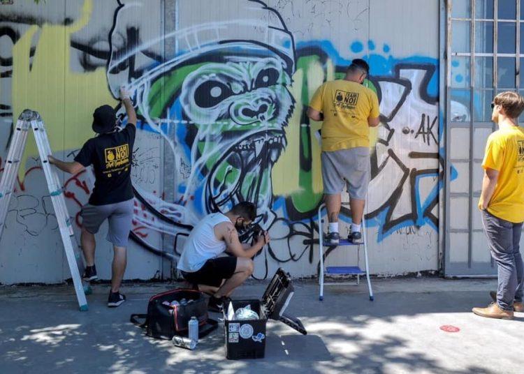 Centro Giano: un Murales per il quartiere 1