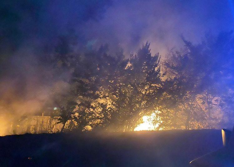Fiumicino: fiamme in Via Costalunga. 1