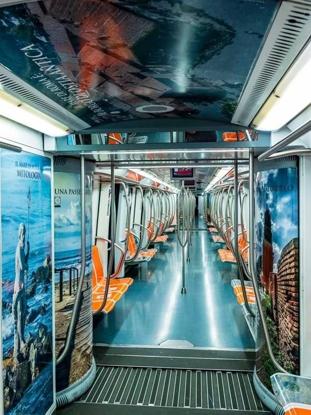 Roma: inaugurato un treno tutto dedicato al Mare di Roma 4