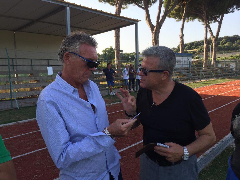 Massimo Zanni fa visita al Cerveteri