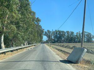 """""""Via dei rifiuti"""": Ostia Antica-Saline nel degrado 3"""