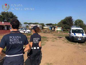 Castel Romano, con motorino rubato tenta di fare irruzione nel campo nomadi 1