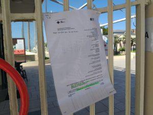 Allarme covid-19 negli stabilimenti di Ostia 2