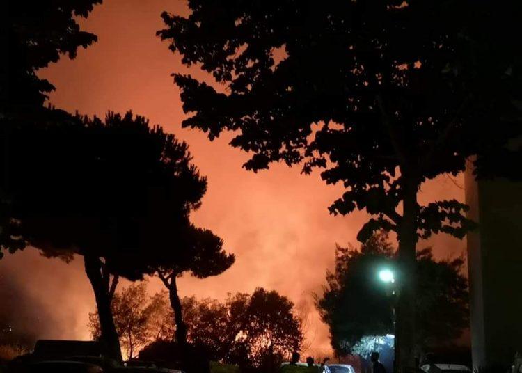 Acilia: incendio a Villaggio San Giorgio 1