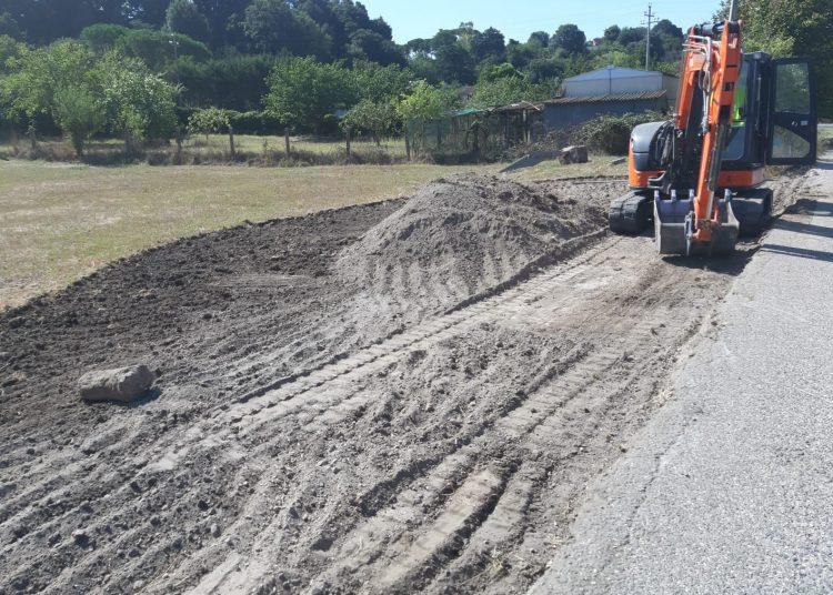 Aranova: lavori in corso per la rotonda di via Raulich 1