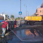 Ancora cassonetti in fiamme a Ostia: 3 incendi in 30 minuti 1