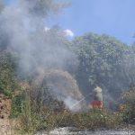 Incendi a Cerveteri: doppio intervento della Protezione civile 1