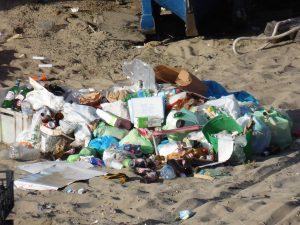Degrado nella spiaggia dei pescatori a Torvaianica 1