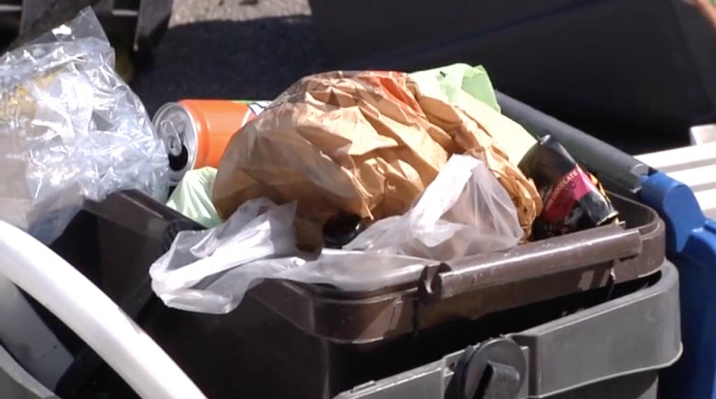 Fiumicino: discarica abusiva davanti a un condominio di Via Giovanni Cena 3