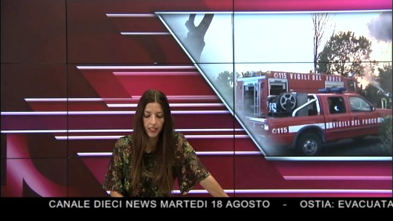 Canale 10 News 18/08/2020 seconda edizione
