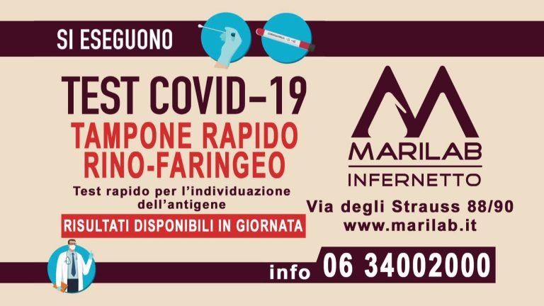 Marilab Infernetto Tampone Rapido Covid19