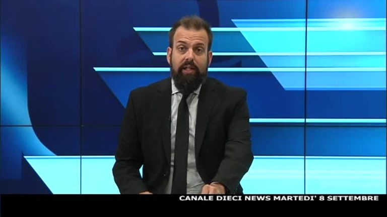 Canale 10 News 08/09/2020