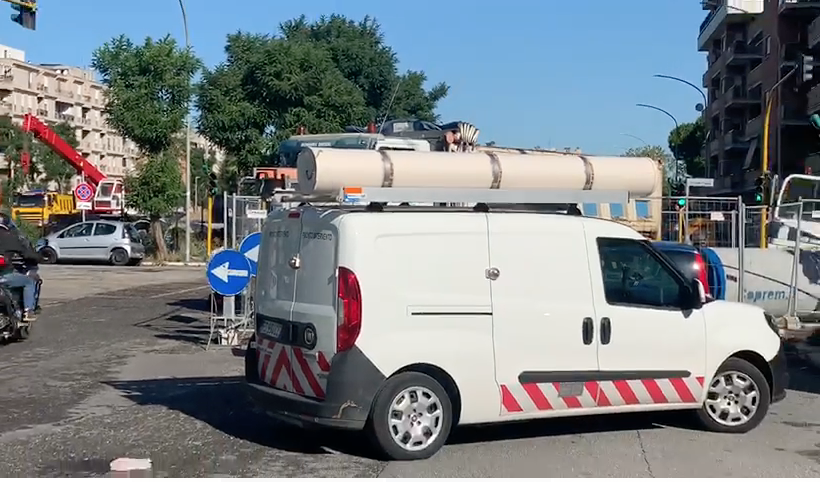 Ostia, perdita di gas in Via Casana 1