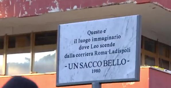 Carlo Verdone a Ladispoli per i 40 anni di 'Un sacco bello' 1