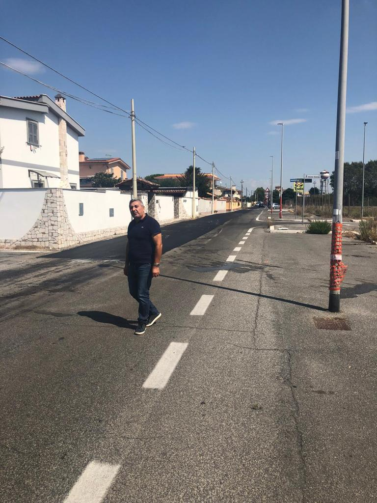 Fiumicino: strade in rifacimento in tutta la città. A breve pronto il parcheggio a Passoscuro 1